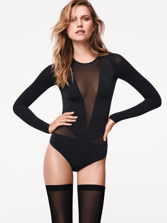 Carissima Leuven Wolford Kleding Body Winter 2017 77065 7005 100 001 B M Ws