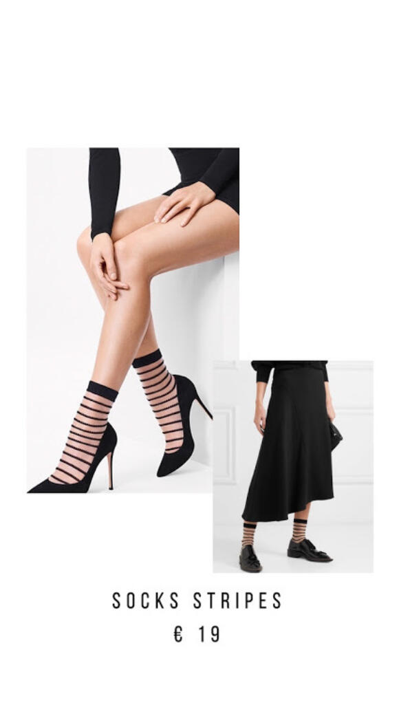 Carissima Leuven Wolford Socks Stripes